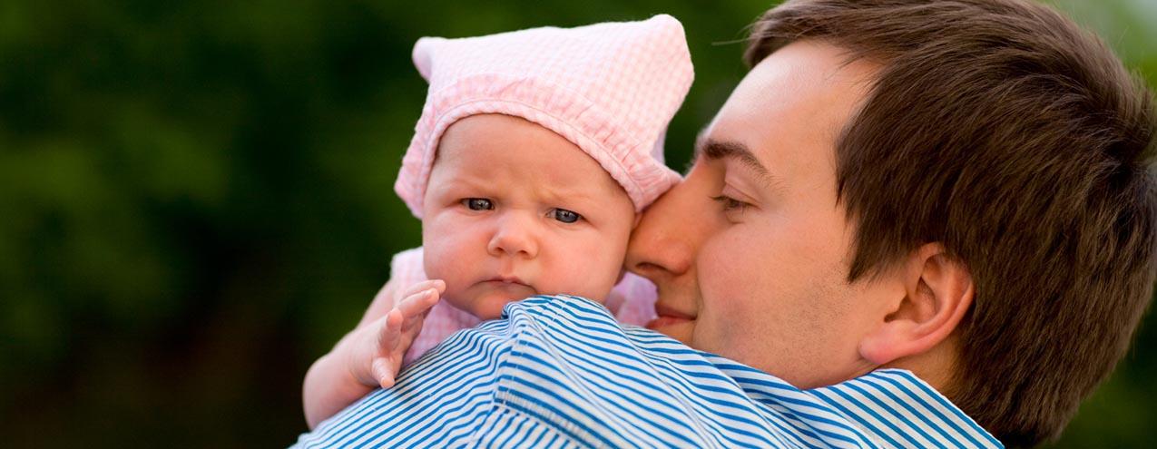 pappa och barn