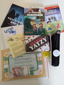 Exempel på innehåll i ett paket